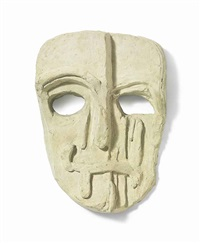 untitled mark (viper mask) by thomas houseago