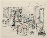 susanna im schlafzimmer / nina serviert by bele bachem