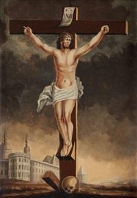 kristus på korset by catharina christina alenning