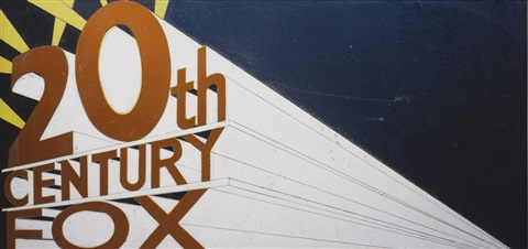 20TH CENTURY FOX, AFTER ED RUSCHA FROM PICTURES OF CARS by
