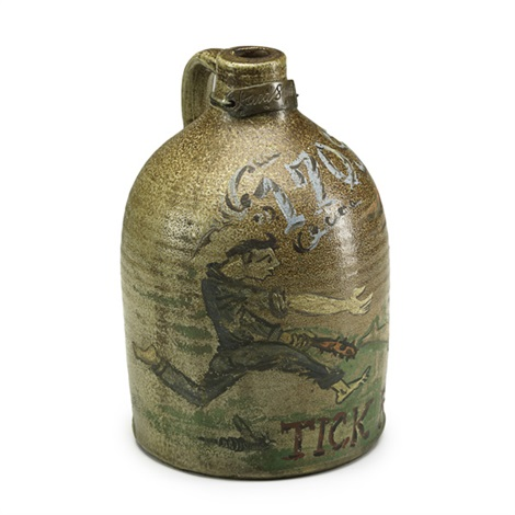 1708tick ridge jug by david smith