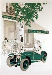 deux magots by denis paul noyer