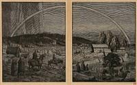 ragnarok (+ midgård; 4 works) by sigurd vasegaard