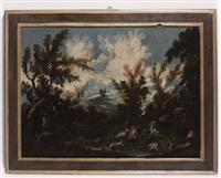 paesaggio by antonio francesco peruzzini