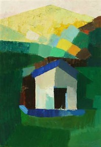composition with house by tage mellerup