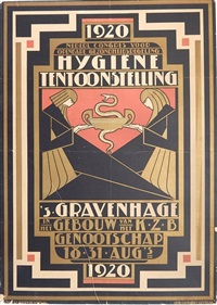 hygiene tentoonstelling's gravenhage by pieter a.h. hofman