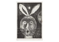rabbit in the moon by tetsuo komai