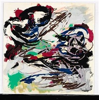composition from paysages humains by karel appel
