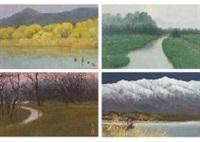 four seasons of kosai (set of 4) by kojin nishimura