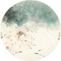 荷塘 by jiang hongwei