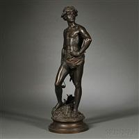 figure of david by adrien étienne gaudez