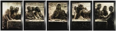 black supper i v in 5 parts by andres serrano