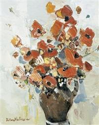 fleurs au vase de noron by roland lefranc