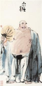 大肚 (buddhist monk) by dai wei