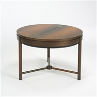 occasional table by adolf relling and rolf rastad