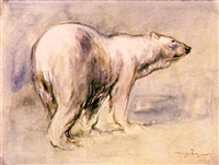polar bear by hans-jörg wagner