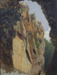 paesaggio roccioso by pietro senno