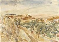 mountains of jerusalem by leon engelsberg