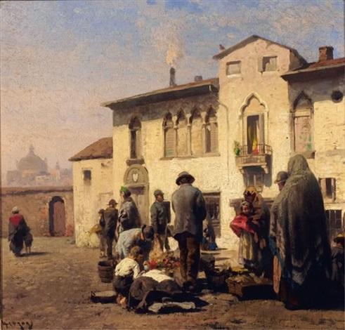 turkish market by hermann herzog