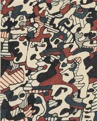 logologie, 4 janvier 1967 by jean dubuffet