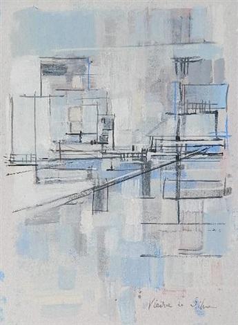 perspectives urbaines by maria helena vieira da silva