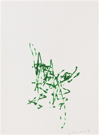 metamatic 7 (maschinenbild haus lange. bauanleitung) (portfolio of 12) by jean tinguely