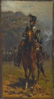 husar zu pferde by robert von haug