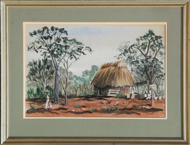 untitled 2 hut by mabel scott
