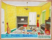 a music room by beverly gayleenn' aiken