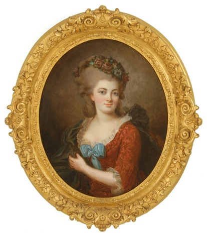 portrait of the marquise de serilly by joseph boze