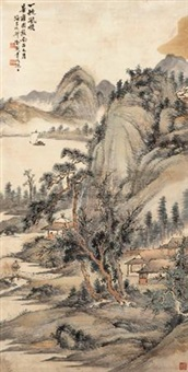 一帆风顺 (landscape) by xu xiaochun