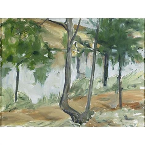 callicoon woods by elaine de kooning