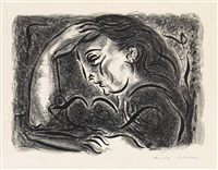 méditation by andré masson