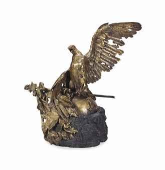 aigle expirant de waterloo by jean léon gérôme