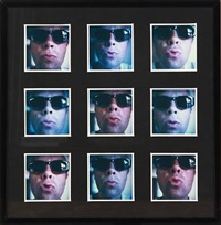 good day sunshine (9 works in 1 frame) by lars mathiesen