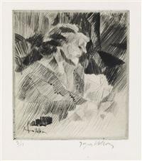 portrait de suzanne d by jacques villon
