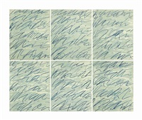 roman notes by cy twombly
