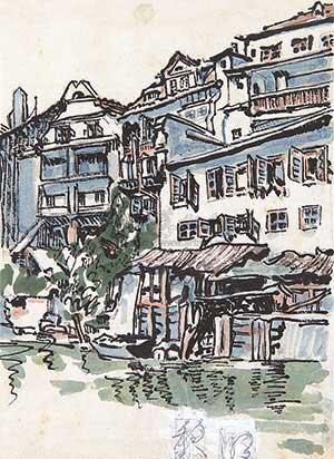 黎明·手稿 by liu haisu