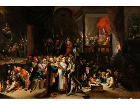 szenen der passion christi by frans francken the younger
