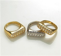 stacking rings (set of 3) by don huber