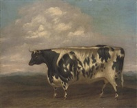 a prize bull by g. b. newmarch