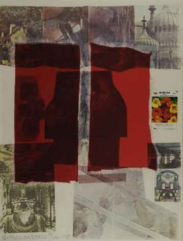 why you cant tell by robert rauschenberg