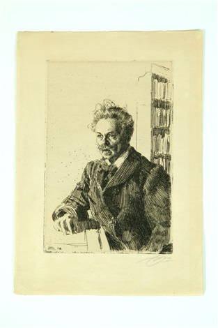 august strindberg by anders zorn