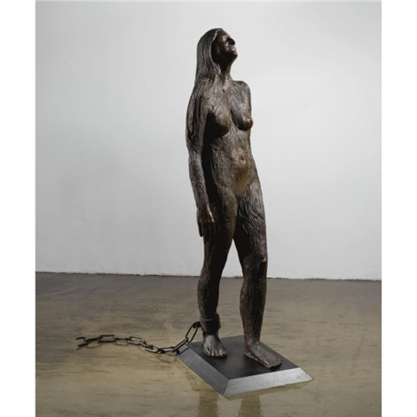 mary magdalene by kiki smith