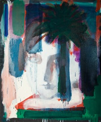 portrait au palmier by roger pfund
