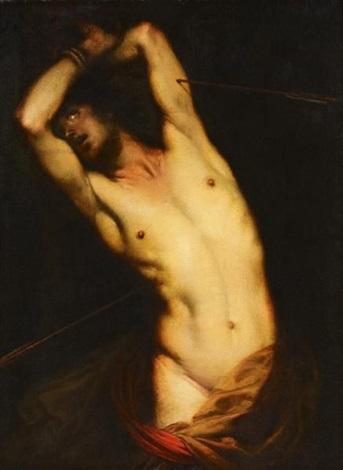 heiliger sebastian by giovanni battista langetti