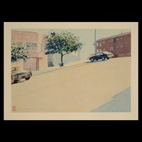 untitled - san francisco street by robert bechtle