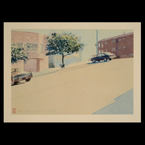 untitled san francisco street by robert bechtle