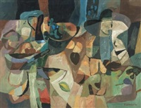abstract still life by eben van der merwe