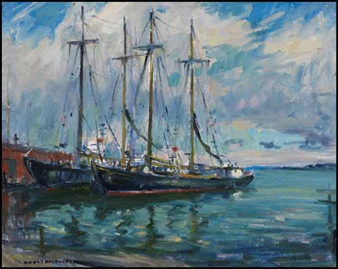 schooners sydney ns by manly edward macdonald